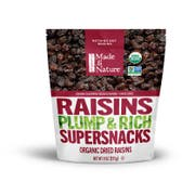 Made In Nature Raisins Dried Fruit, 9 Ounce -- 6 per case.