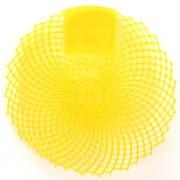 Impact Yellow Citrus Urinal Screen -- 36 per case.