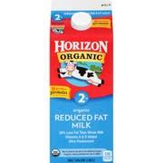 Horizon Organic 2 Percent Reduced Fat Milk, 64 Ounce -- 6 per case.