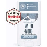 Schmidts Water Plus Wood with Charcoal Deodorant Stick, 2.65 Ounce -- 12 per case