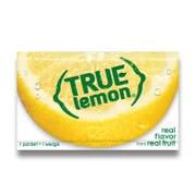 True Lemon Flavored Juice Mix, 0.028 Ounce - 100 per pack -- 12 packs per case.