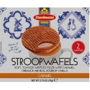 Daelmans Caramel Jumbo Wafer - Duo Pack, 2.75 Ounce -- 48 per case.