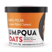 Umpqua Oats Super Premium Maple Pecan Oatmeal, 2.57 Ounce Cup -- 8 per case