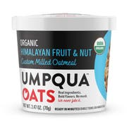 Umpqua Oats Organic Himalayan Fruit and Nut Oatmeal, 70 Gram Cup -- 8 per case
