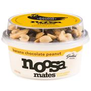 Noosa Mates Banana Chocolate Peanut Yoghurt and Crunchies, 5.8 Ounce -- 8 per case.