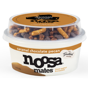 Noosa Mates Caramel Chocolate Pecan Yoghurt and Crunchies, 5.5 Ounce -- 8 per case.