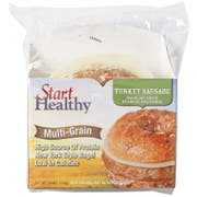 Start Healthy Turkey Sausage Cheese New York Style Bagel, 3.8 Ounce -- 10 per case.