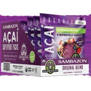 Sambazon Organic Original Blend Acai Superfruit Pack, 4 count per pack -- 10 per case
