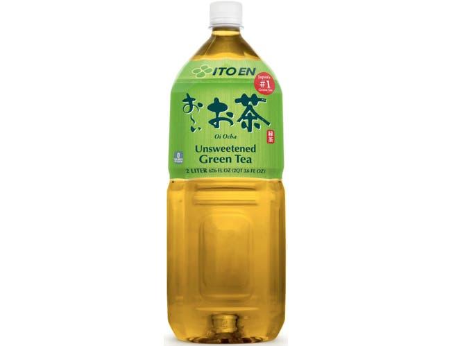 Ito En Oi Ocha Unsweetened Green Tea, 2 Liter -- 6 per case.