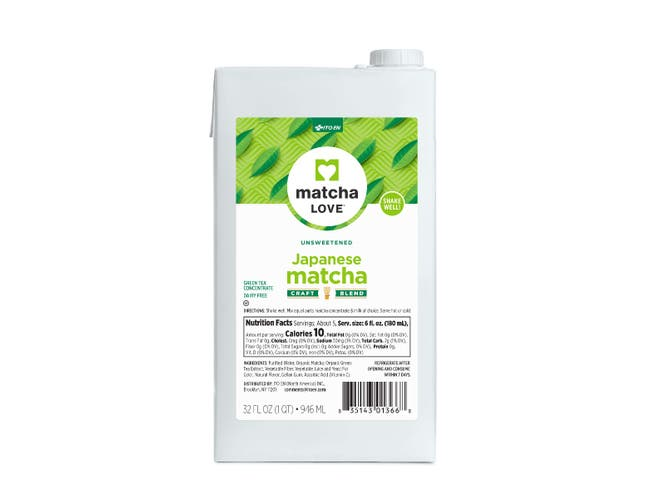 Matcha Unsweetened Japanese Concentrate, 32 ounce -- 6 per case