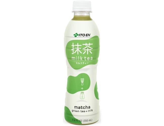 Ito En Matcha and Milk Green Tea, 11.8 Fluid Ounce -- 12 per case.