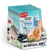 Field Trip Cracked Pepper Turkey Jerky, 2.2 Ounce -- 9 per case.