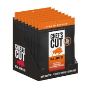 Chefs Cut Chipotle Cracked Pepper Smoked Beef Jerky, 2.5 Ounce -- 8 per case.