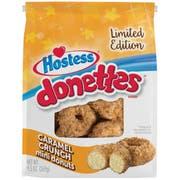 Hostess Caramel Crunch Mini Donette, 9.5 Ounce Bag -- 9 per case