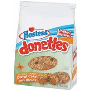 Hostess Carrot Cake Mini Donettes, 9.5 Ounce -- 9 per case