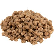 Tyson Small Chunk Beef and Chicken Pizza Topping, 5 Pound -- 8 per case.