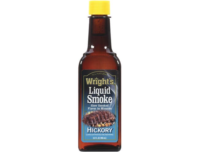Wrights Hickory Flavored Liquid Smoke - 3.5 oz. bottle, 12 per case