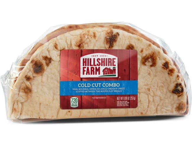 Hillshire Farm Cold Cut Combo Flatbread Sandwich, 9.2 Ounce -- 10 per case