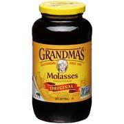 Grandma Unsulphered Baking Molasses 12 Case 24 Ounce