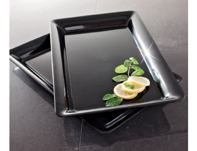 Party Tray White Rectangular Tray, 12 x 18 inch -- 20 per case.