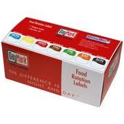 Daymark MoveMark Octagon Dot Box Label Kit- 7 Day, 1 x 1 inch -- 7 per case.