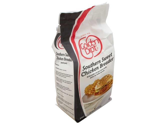 Golden Dipt Southern Sweet Chicken Breader, 5 Pound Bag -- 6 per case