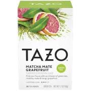 Tazo Matcha Mate with Grapefruit Tea Bags - 20 tea bags per pack -- 6 packs per case