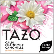 Tazo Calm Chamomile Enveloped Hot Tea Bags, 24 count -- 6 per case