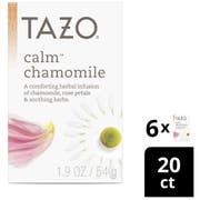 Tazo Decaf Calm Tea - 20 tea bags per pack -- 6 packs per case