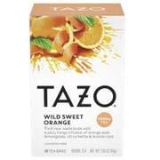 Tazo Wild Sweet Orange Tea - 20 tea bags per pack -- 6 packs per case