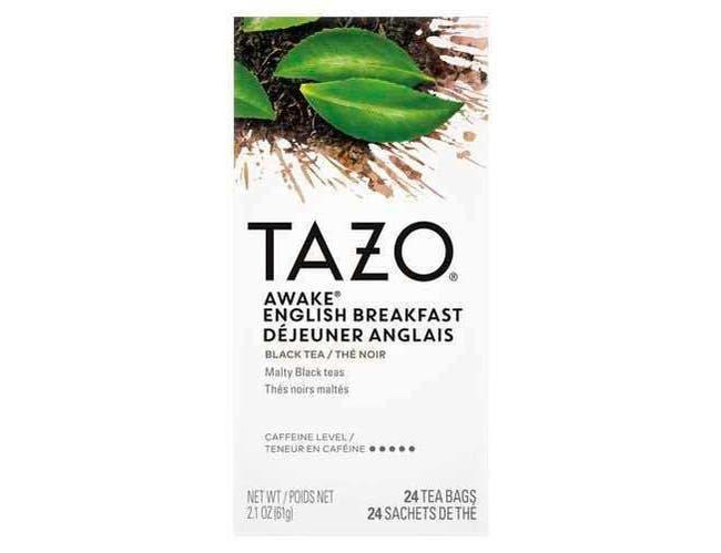 Tazo Awake English Breakfast Enveloped Hot Tea Bags, 24 count -- 6 per case