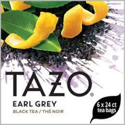 Tazo Earl Grey Enveloped Hot Tea Bags, 24 count -- 6 per case