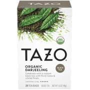 Tazo Organic Darjeeling Tea Bags - 20 tea bags per pack -- 6 packs per case