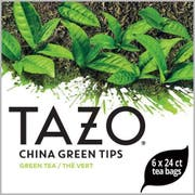 Tazo China Green Tips Enveloped Hot Tea Bags, 24 count -- 6 per case