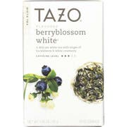 Tazo Berry Blossom White Tea Bag, 20 tea bags per pack -- 6 per case