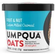 Umpqua Oats Super Premium Gourmet Fruit and Nuts Oatmeal, 2.73 Ounce Cup -- 8 per case