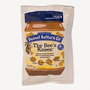 Peanut Butter and Co The Bees Knees Peanut Butter, 1.15 Ounce -- 200 per case.