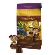 The Wine Rayzyn Cabernayzyn Truffle Crunchy Seeded Cabernet Wine Grapes with Dark Chocolate, 2.88 Ounce -- 12 per case