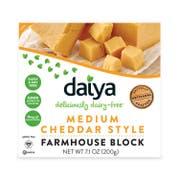 Daiya Medium Cheddar Style Block Cheese, 7.1 Ounce -- 8 per case