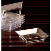 Small Wonders Clear Petite Abyss Dish, 2.5 inch -- 200 per case.
