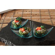 Small Wonders Clear Petite Aster Dish -- 200 per case.