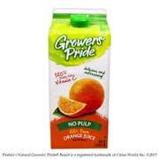 Growers Pride Concentrate Orange Juice, 59 Fluid Ounce -- 8 per case.