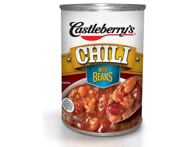 Castleberrys American Original Chili with Beans, 15 Ounce -- 12 per case.