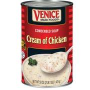 Venice Maid Old Fashion Cream of Chicken Soup - no. 5 can, 12 per case