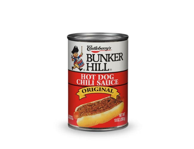 Bunker Hill Hot Dog Chili Sauce, 10 Ounce -- 24 per case