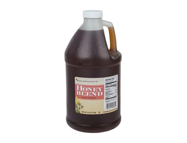 Natural American Food Honey Blend, 6 Pound -- 4 per case.