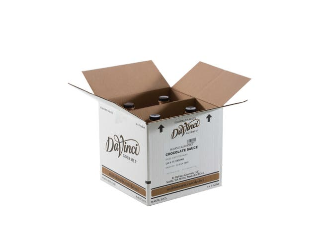 Kerry Food and Beverage Da Vinci Gourmet Chocolate Sauce, 1 Gallon -- 4 per case.