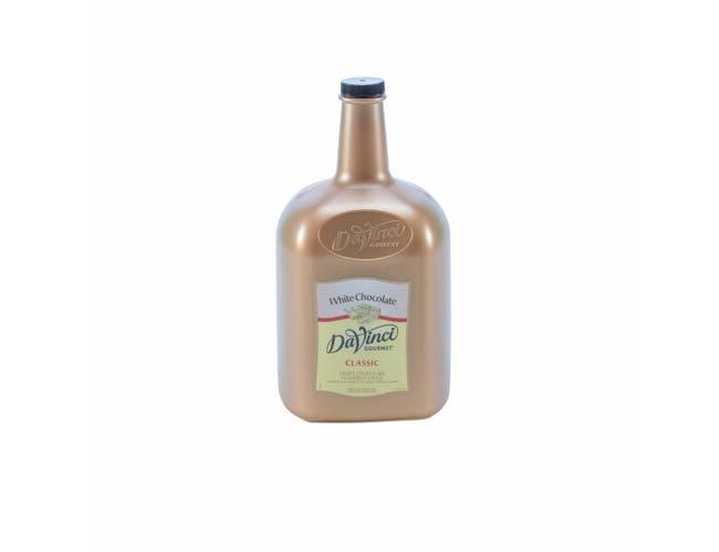 Kerry Food and Beverage Da Vinci White Chocolate Sauce, 1 Gallon -- 4 per case.