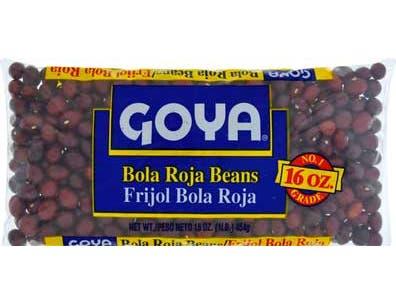 Goya Bola Roja Beans, 16 Ounce -- 24 per case.