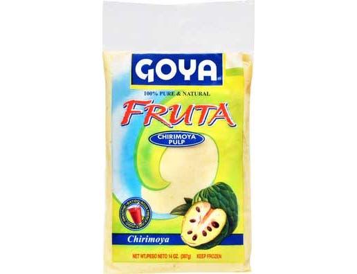 Goya Fruta Chirimoya Pulp, 14 Ounce -- 12 per case.